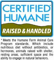 Certified Humane treatment logo